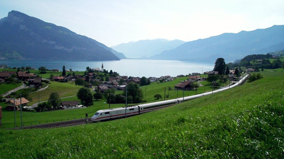 Take a Virtual Ride on Switzerland's Amazing Trains